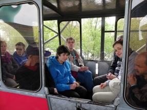 een verkenningsritje met de monorail