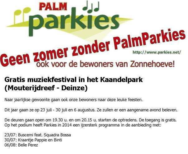 PalmParkies 2014