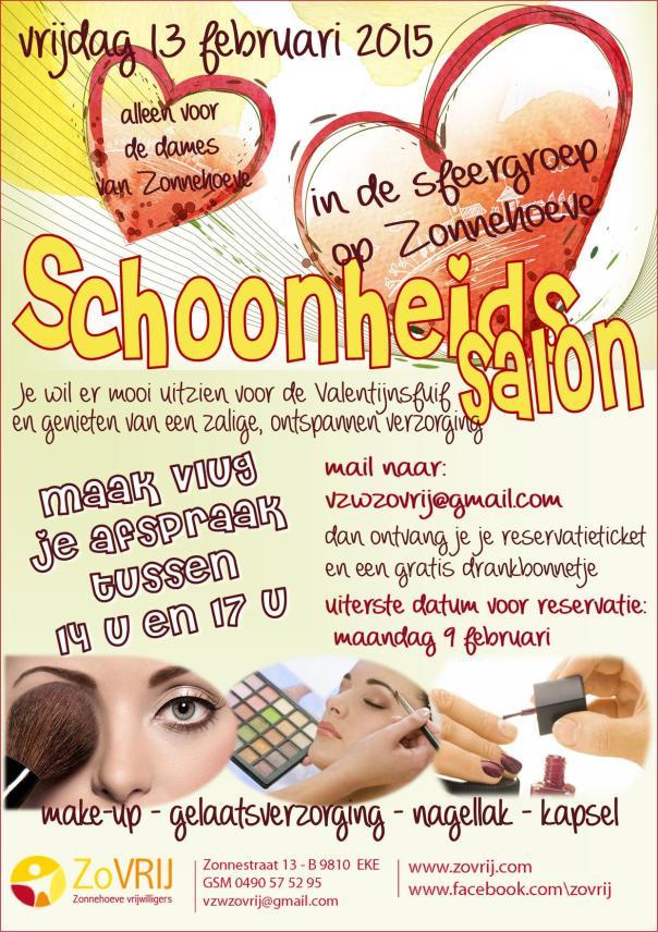 2015-02-03 affiche Schoonheidssalon2