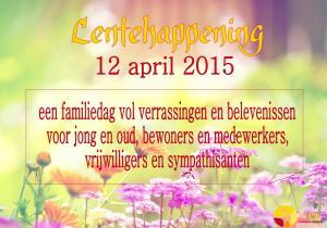 2015-04-12 Lentehappening eerste aankondiging