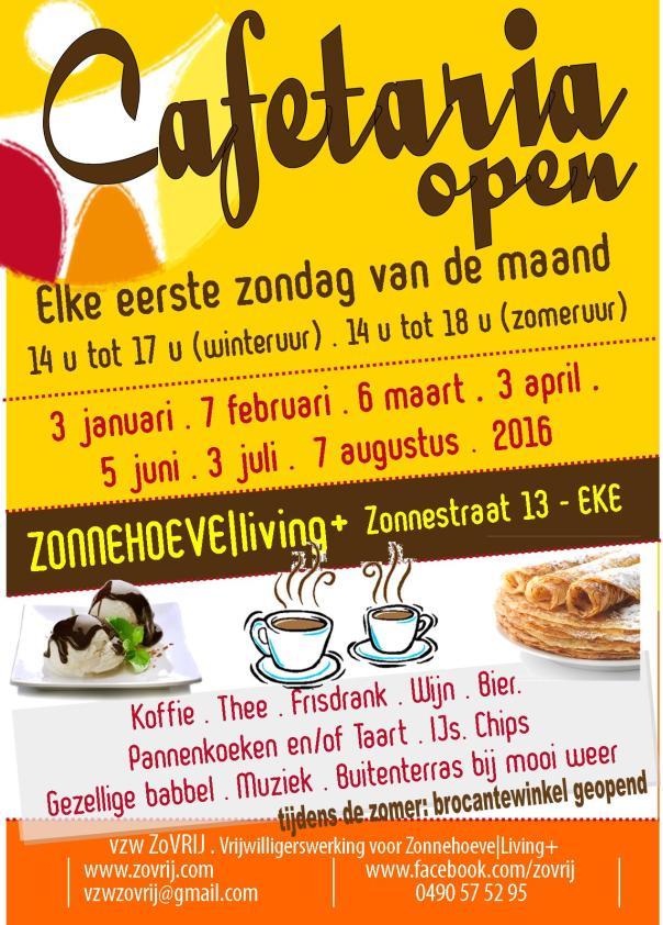 20151212 Affiche cafetaria voorjaar en zomer 2016