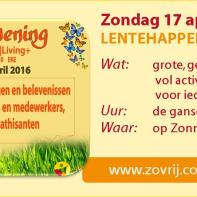 jaarkalender - Lentehappening