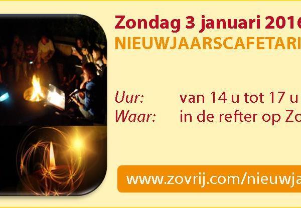 jaarkalender - Nieuwjaarscafetaria